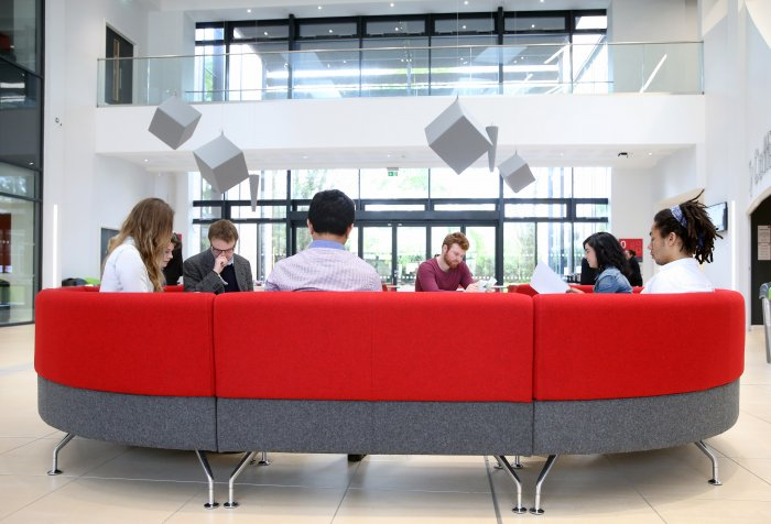 council sofa collection cardiff corner bed oslo mini hubs creating student centric services at chartered business school which has a staff of 300 and around 3 500 students recently been undergoing programme professionalisation its support