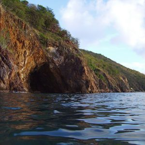 The caves at Norman Island, Captured by Alan Wolf (source: flickr)