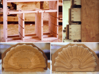 Dougal Charteris, master craftsman furniture maker,antique ...