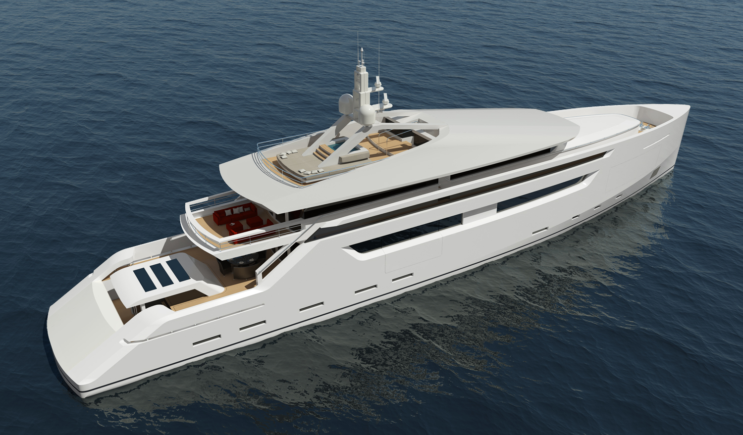 49m Luxury Design Yacht Concept By Nick Mezas — Yacht