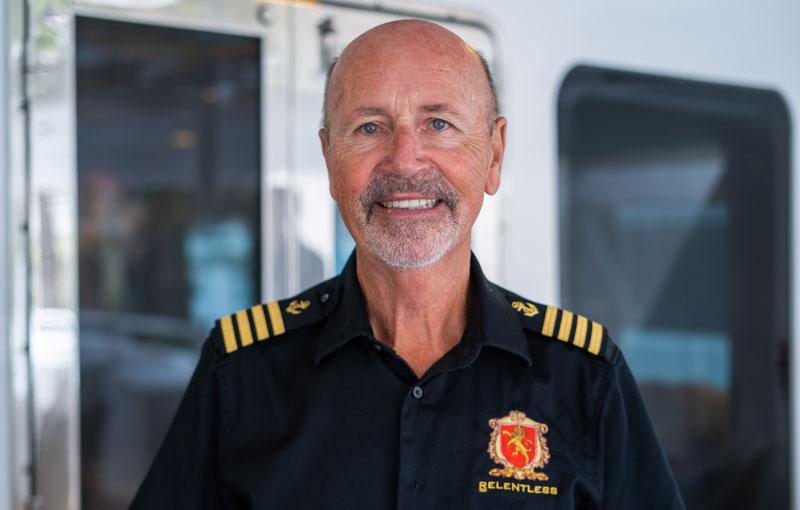 Captain Michael Mullen, Yacht Relentless