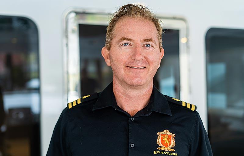 First Officer Oli Gillespie, Yacht Relentless