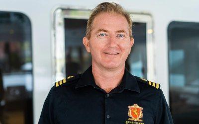 First Officer, Oli Gillespie