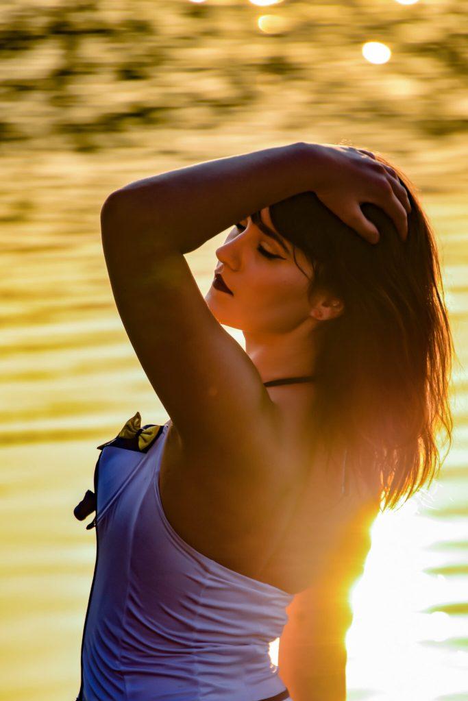 Creve Coeur Lake Sunset Portrait