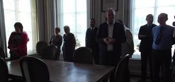 Deputy Mayor showing us Town Hall 2