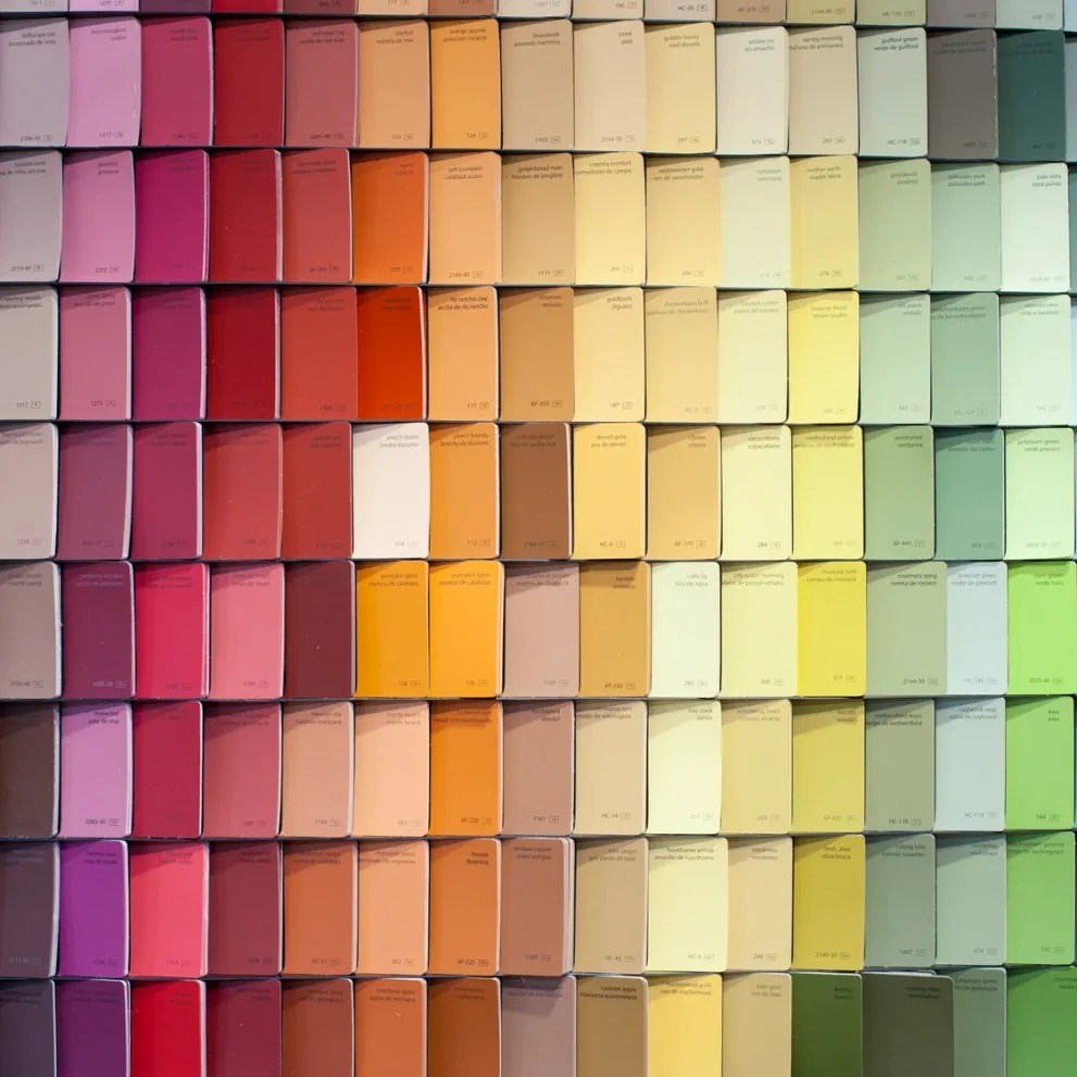 hight resolution of colours