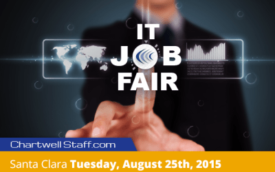 IT Job Fair 8/25, 2015 in Santa Clara, CA