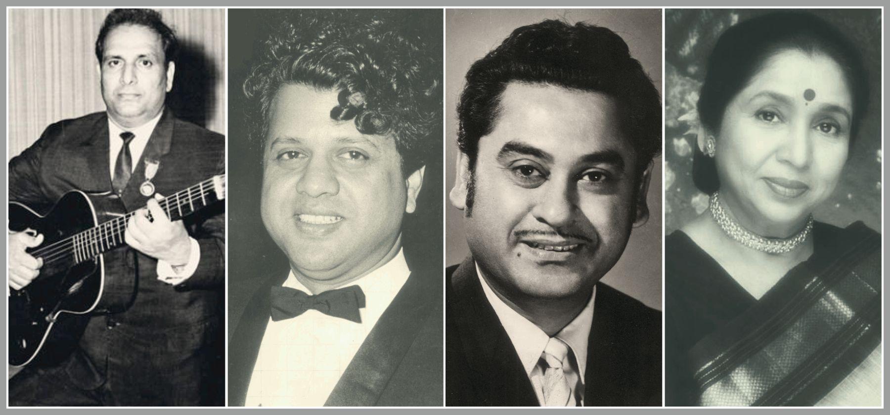 Shankar-Jaikishan-Kishor Kumar -Asha Bhosale