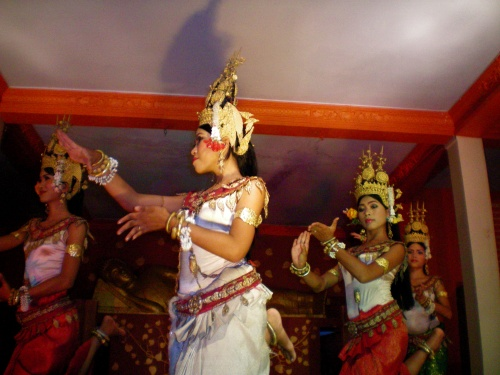 Dance of the apsara