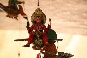 Hanging Hanuman