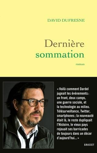 David Dufresne Maintien De L'ordre : david, dufresne, maintien, l'ordre, Lecture, Dernière, Sommation, (David, Dufresne), «Charybde