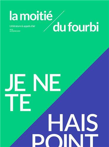 Je Ne Te Hais Point Figure De Style : point, figure, style, Lecture, Moitié, Fourbi, Point, «Charybde