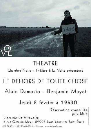 Le Dehors De Toute Chose : dehors, toute, chose, Lecture, Dehors, Toute, Chose, (Alain, Damasio, Benjamin, Mayet), «Charybde