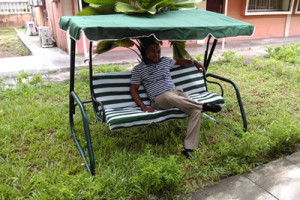 swing chair lagos american rocking styles charykel nigeria ltd carport sellers in agriculture glider garden bench chairs