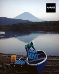 JAPAN. Lake Saiko. Boatman. 2001. Photographer: Chris Steele-Perkins. source: http://pro.magnumphotos.com
