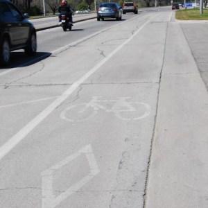 Bike Lane, Burlington KP