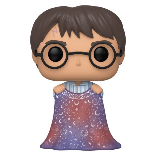Funko Pop van Harry Potter with invisibility Cloak uit Harry Potter 112 Unboxed