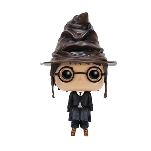 Funko Pop van Harry (Sorting Hat) uit Harry Potter 21 Unboxed