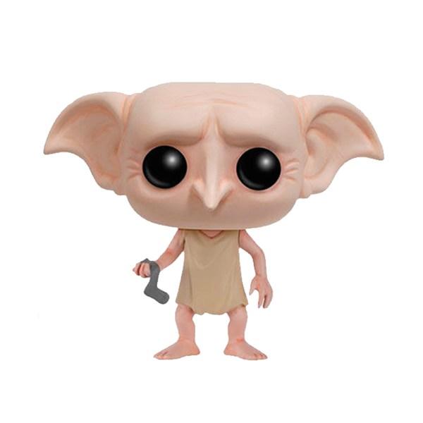 Funko Pop van Dobby with Sock uit Harry Potter 17 Unboxed
