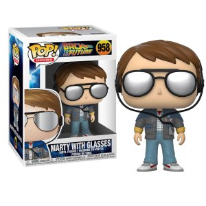 Funko Pop van Marty with Glasses uit Back To The Future 958