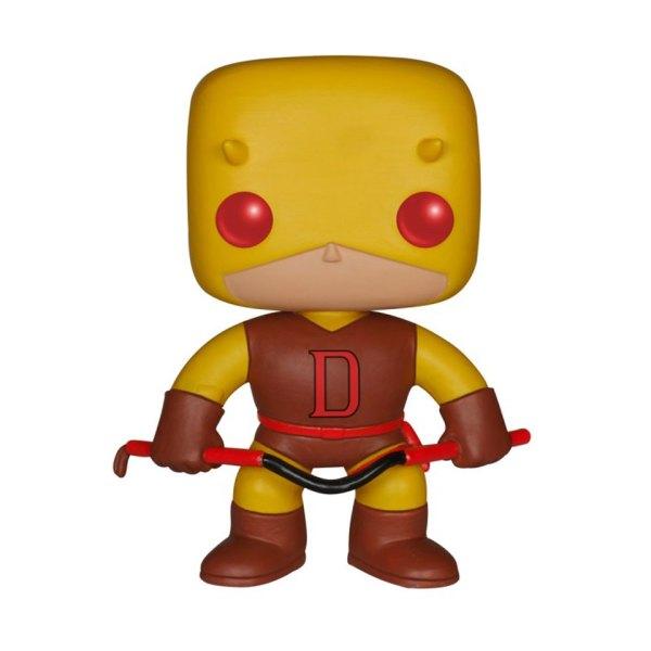 Funko Pop van Daredevil uit Marvel 90 Unboxed