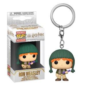 Funko Pocket Pop Keychain van Ron Weasley uit Harry Potter