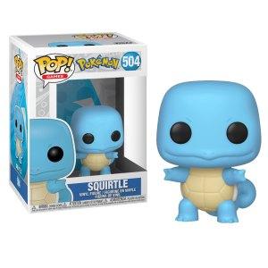 Funko Pop van Squirtle uit Pokemon 504