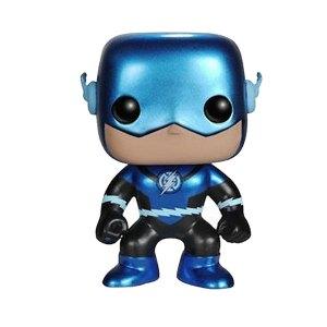 Funko Pop van Blue Lantern: The Flash (Metallic) van DC Comics 47 Unboxed