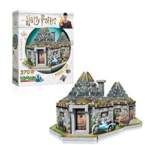3D Puzzel van Hagrid's Hut uit Harry Potter