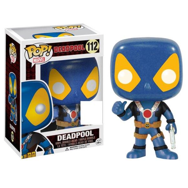 Funko Pop van Deadpool (Blue) van Marvel 112