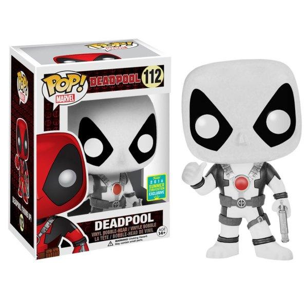Funko Pop van Deadpool (White) van Marvel 112