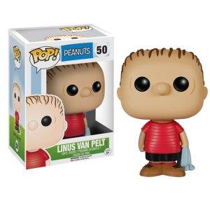 Funko Pop van Linus van Pelt uit Peanuts 50