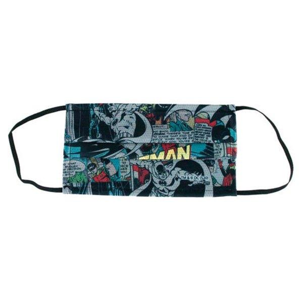 Gezichtsmasker van Batman Comic Facemask Unboxed