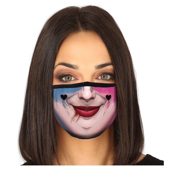 Gezichtsmasker van Harley Quinn Facemask