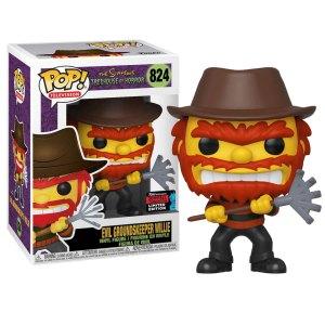 Funko Pop van Evil Groundskeeper Willie uit The Simpsons 824