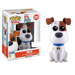 Funko Pop van Max (Flocked) uit The Secret Life of Pets 293
