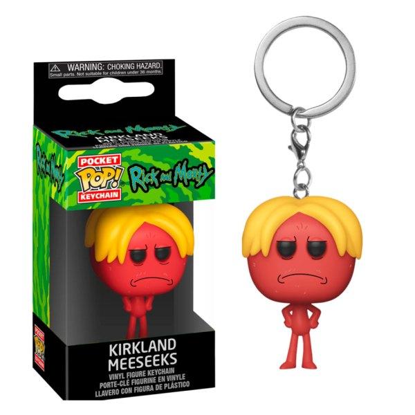 Funko Pocket Pop van Kirkland Meeseeks uit Rick and Morty