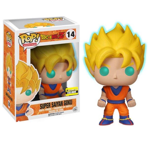 GITD Exclusive Funko Pop van Super Saiyan Goku uit Dragon Ball Z 14