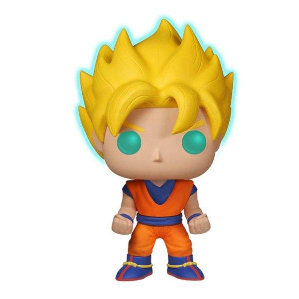 GITD Exclusive Funko Pop van Super Saiyan Goku uit Dragon Ball Z 14 Unboxed