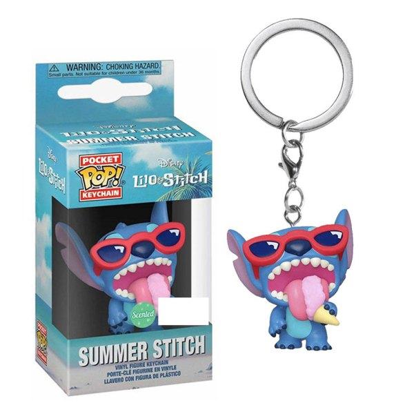 Funko Pocket Pop van Summer Stitch uit Disney Lilo & Stitch
