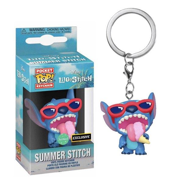 Funko Pocket Pop Exclusive van Summer Stitch uit Disney Lilo & Stitch