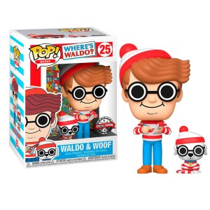 Funko Pop van Waldo & Woof uit Where's Waldo 25