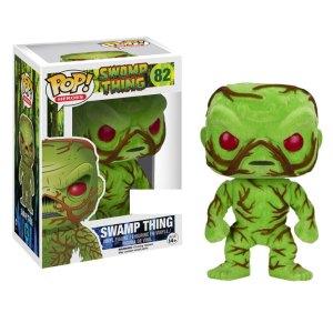 Funko Pop van Swamp Thing (Flocked) uit Swamp Thing 82