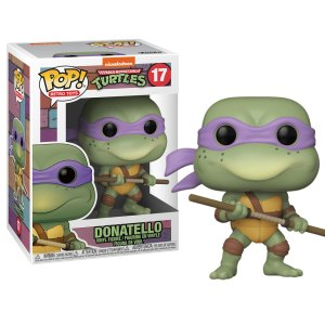 Funko Pop van Donatello uit Teenage Mutant Ninja Turtles 17