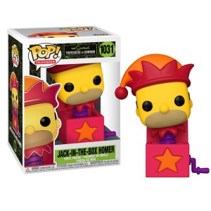Funko Pop van Jack-In-The-Box Homer uit The Simpsons 1031