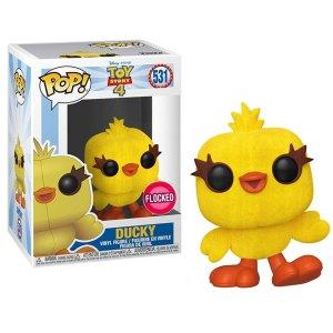 Funko Pop van Ducky (Flocked) uit Toy Story 4 531