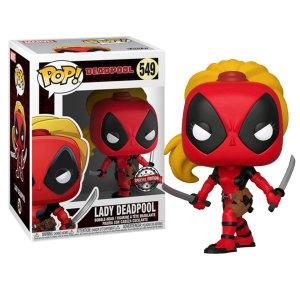 Funko Pop van Lady Deadpool uit Marvel Deadpool 549