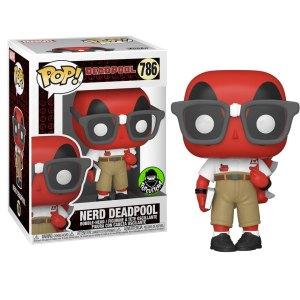 Funko Pop van Nerd Deadpool uit Marvel Deadpool 786