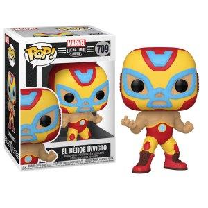 Funko Pop van El Heroe Invicto uit Marvel 709