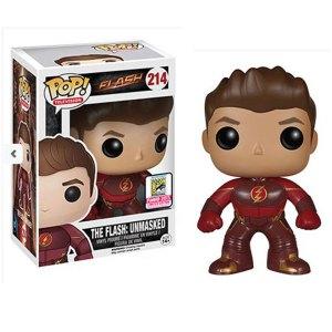 Funko Pop van The Flash: Unmasked uit Flash 214